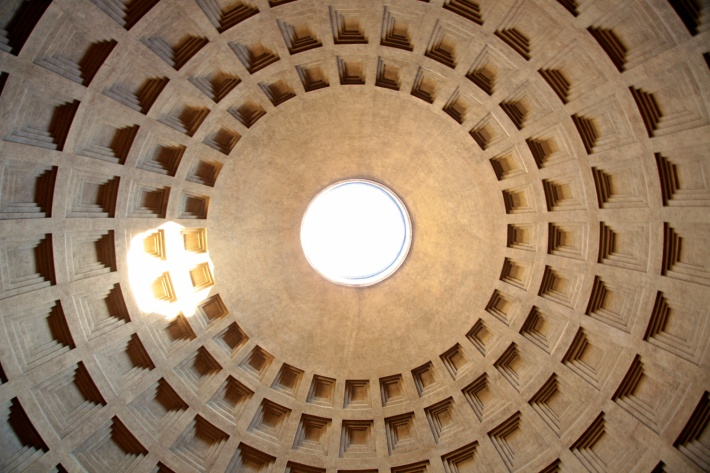 Pantheon dome, Dace & Gilles photography